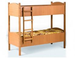 Кровать двухъярусная детская ДСП 1400x600