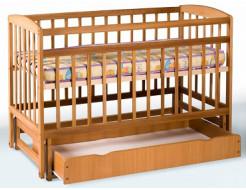 Купить Кровать детская на шарнирах+ящик 1200х600 - 1
