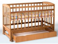 Купить Кровать детская на шарнирах+ящик с откидной боковиной 1200х600