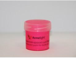 Аквагрим флуоресцентный AcmeLight для тела розовый - интернет-магазин tricolor.com.ua