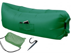 Купить Надувной шезлонг-лежак.top standart зеленый - 1
