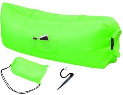 Купить Надувной шезлонг-лежак.top standart зеленый неон - 1