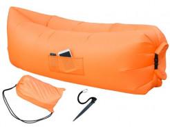 Купить Надувной шезлонг-лежак.top standart оранжевый - 1