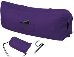 Купить Надувной шезлонг-лежак.top standart фиолетовый - 1