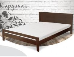Кровать Кардинал 90х190 бук, цвет натуральное дерево - интернет-магазин tricolor.com.ua