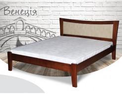 Кровать Венеция 90х200 бук, цвет натуральное дерево - интернет-магазин tricolor.com.ua
