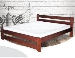 Кровать Лира 120х190 сосна, цвет натуральное дерево - интернет-магазин tricolor.com.ua