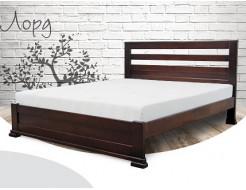 Кровать Лорд 90х190 бук, цвет натуральное дерево - интернет-магазин tricolor.com.ua