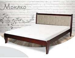 Кровать Монако 90х190 бук, цвет натуральное дерево - интернет-магазин tricolor.com.ua