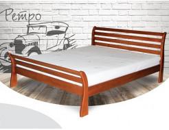 Кровать Ретро 90х200 бук, цвет натуральное дерево - интернет-магазин tricolor.com.ua