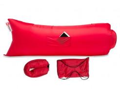 Купить Надувной шезлонг-лежак.top premium красный - 1