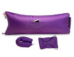 Купить Надувной шезлонг-лежак.top premium фиолетовый - 1