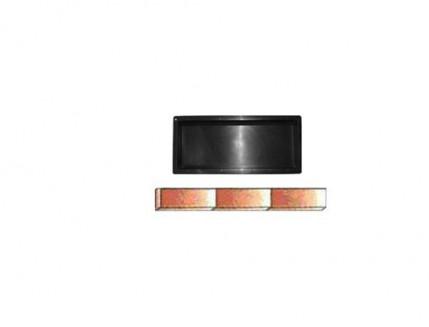 Форма для тротуарной плитки «Бордюр - 1» 50x21x6,5 AX