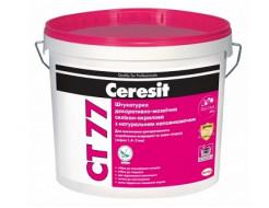 Штукатурка декоративно-мозаичная полимерная 1,4-2,0 мм Ceresit CT 77 цвет GRANADA 1