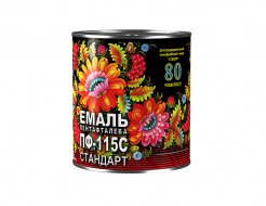 Эмаль алкидная ПФ-115С Стандарт Спектр голубая - интернет-магазин tricolor.com.ua
