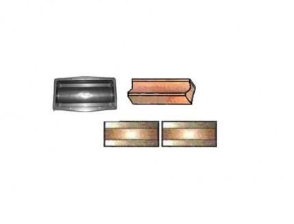 Форма для тротуарной плитки «Водосток» 35x16x6 AX