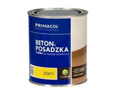 Краска для бетона и бетонных покрытий Primacol (желтая) - интернет-магазин tricolor.com.ua
