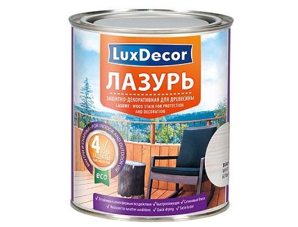 Лазурь для дерева LuxDecor (красное дерево) - интернет-магазин tricolor.com.ua