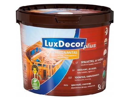Пропитка для дерева LuxDecor Plius (дуб) - интернет-магазин tricolor.com.ua