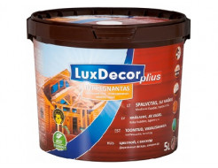 Пропитка для дерева LuxDecor Plius (махагон)