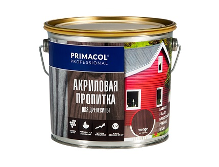 Акриловая пропитка для древесины Primacol Classic (ольха) - интернет-магазин tricolor.com.ua