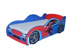 Кровать машина Спайдермен 80х170 ДСП