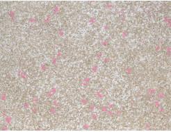 Жидкие обои Экобарвы Мика Голд М2-М-033 розовые