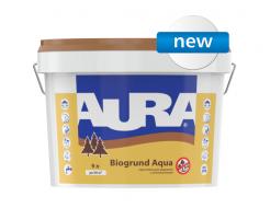 Акриловая грунтовка с антисептиками AURA Biogrund Aqua
