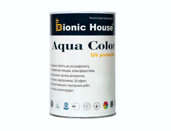 Акриловая лазурь AQUA COLOR – UV protect Bionic House (белая) - изображение 2 - интернет-магазин tricolor.com.ua