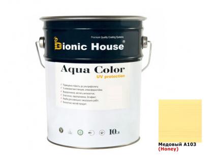 Акриловая лазурь AQUA COLOR – UV protect Bionic House (медовая) - интернет-магазин tricolor.com.ua