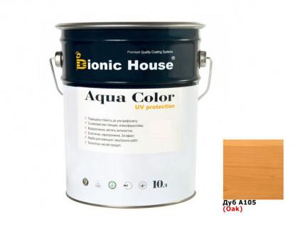 Акриловая лазурь Aqua color – UV protect Bionic House (дуб) - интернет-магазин tricolor.com.ua