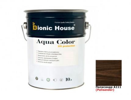 Акриловая лазурь AQUA COLOR – UV protect Bionic House (палисандр) - интернет-магазин tricolor.com.ua