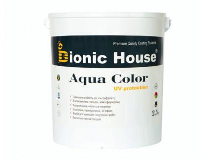 Акриловая лазурь Aqua color – UV protect Bionic House (хаки) - изображение 5 - интернет-магазин tricolor.com.ua
