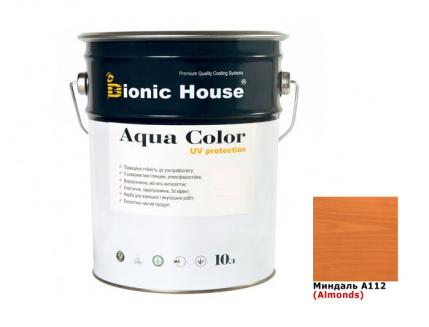 Акриловая лазурь Aqua color – UV protect Bionic House (миндаль) - интернет-магазин tricolor.com.ua