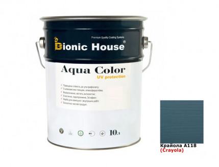 Акриловая лазурь AQUA COLOR – UV protect Bionic House (крайола) - интернет-магазин tricolor.com.ua