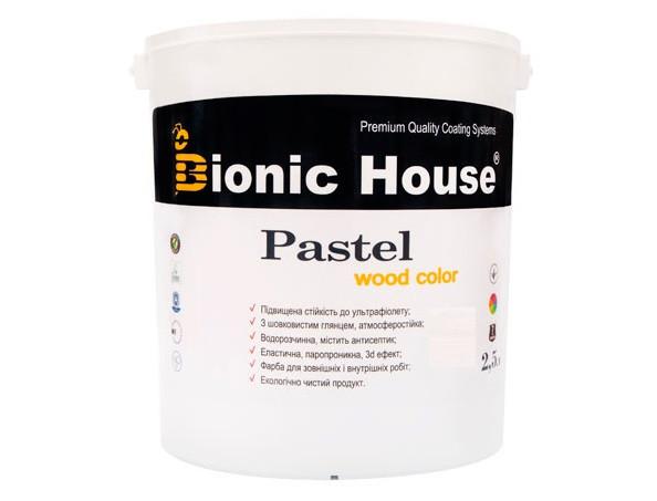 Акриловая пропитка-антисептик PASTEL Wood color Bionic House (арктик) - изображение 2 - интернет-магазин tricolor.com.ua