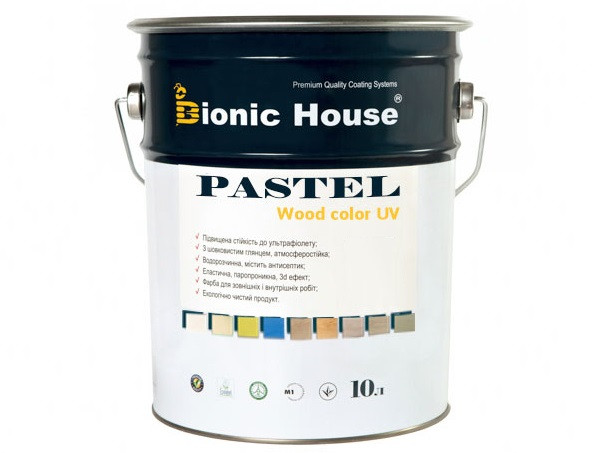 Акриловая пропитка-антисептик PASTEL Wood color Bionic House (мальдивы) - изображение 3 - интернет-магазин tricolor.com.ua