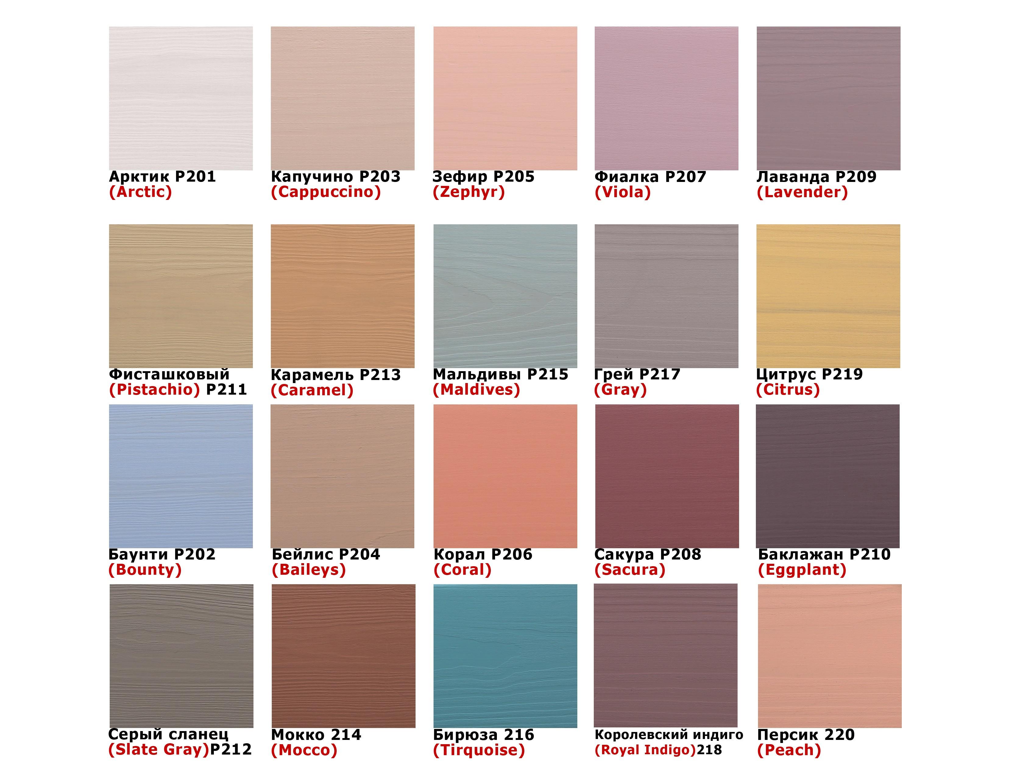 Акриловая пропитка-антисептик PASTEL Wood color Bionic House (корал) - изображение 4 - интернет-магазин tricolor.com.ua