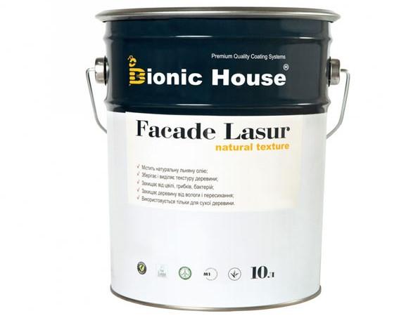 Лазурь с маслом для фасадов FACADE LASUR Bionic House (белый) - изображение 3 - интернет-магазин tricolor.com.ua