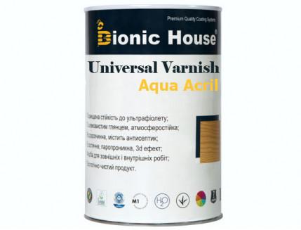 Лак универсальный акриловый Bionic House полуматовый прозрачный - изображение 3 - интернет-магазин tricolor.com.ua