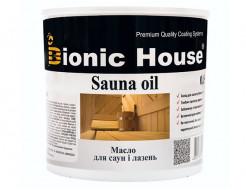 Масло для обработки саун Sauna Oil Bionic House
