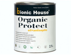 Масло-антисептик для дерева Bionic House Organic Protect Oil прозрачное - интернет-магазин tricolor.com.ua