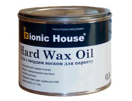 Масло для пола Hard Wax Oil Bionic House (колерованное) - интернет-магазин tricolor.com.ua