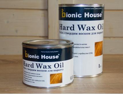 Масло для пола Hard Wax Oil Bionic House (колерованное) - изображение 3 - интернет-магазин tricolor.com.ua