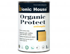 Антисептик для дерева Bionic House Organic Protect прозрачный - интернет-магазин tricolor.com.ua