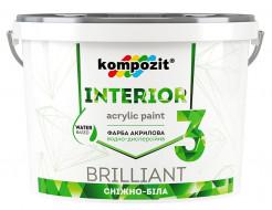 Краска интерьерная INTERIOR 3 Kompozit