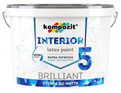 Краска интерьерная INTERIOR 5 Kompozit
