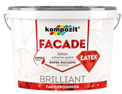 Краска фасадная FACADE LATEX Kompozit