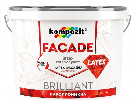 Краска фасадная Facade Latex Kompozit