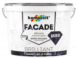 Краска фасадная силиконовая Facade Luxe Kompozit